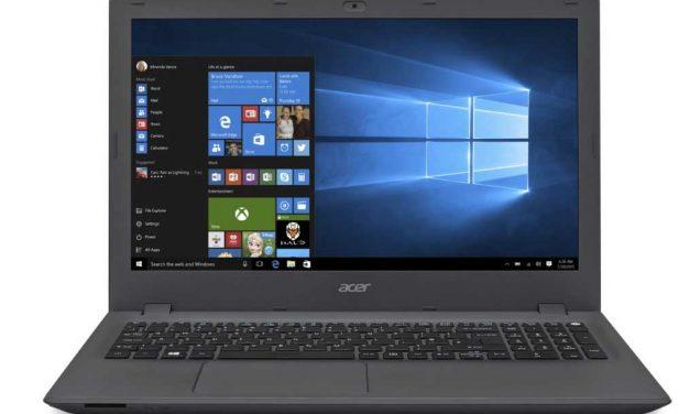 Acer Aspire E5-573-76P9 laptop aanbieding voor maar €699,-