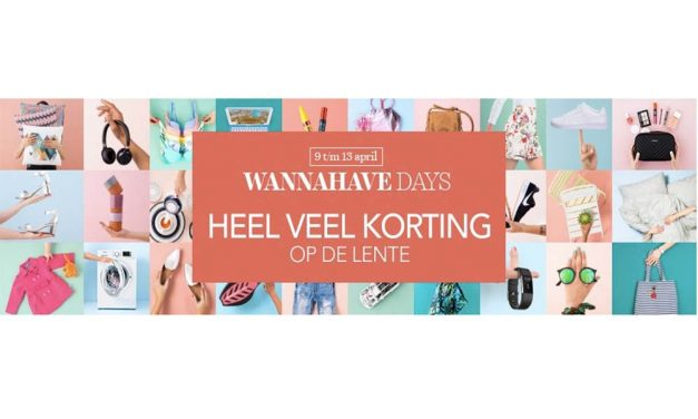 Wehkamp WannaHave Days 2017 | Bespaar tot 30%