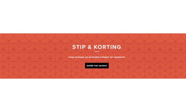 Bijenkorf Stip & Korting aanbiedingen | juni 2017 extra korting