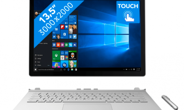 Microsoft Surface Book | Blue Friday aanbieding | Nu €600,- korting