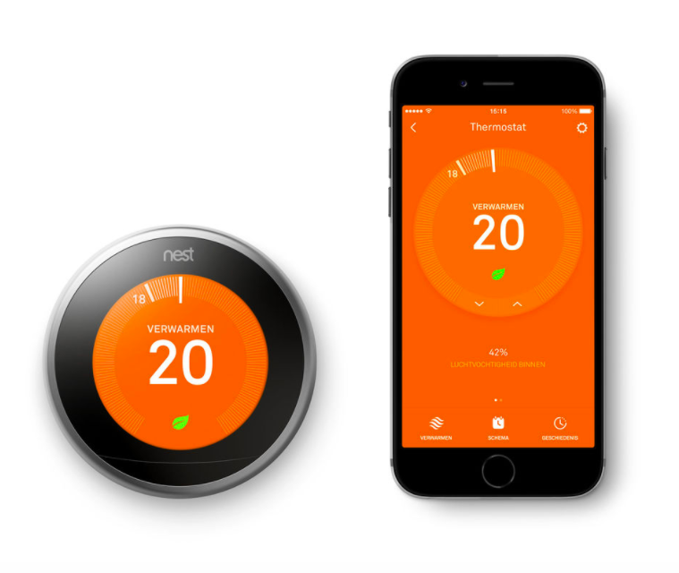 Slimme thermostaat aanbieding | Nest Learning Thermostat | Nu €199,-