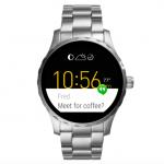 Smartwatch aanbieding | Fossil Q Marshal 45mm Zilver | Nu maar €129,-