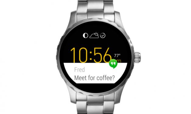 Smartwatch aanbieding   Fossil Q Marshal 45mm Zilver   Nu maar €129,-