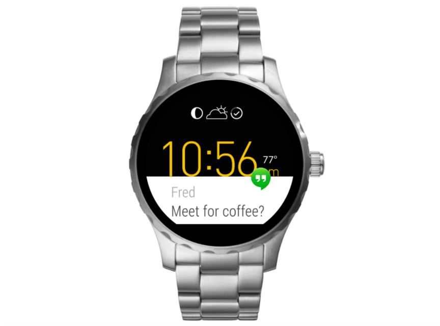 Smartwatch Black Friday | Fossil Q Marshal Zilver | Nu maar €129,-