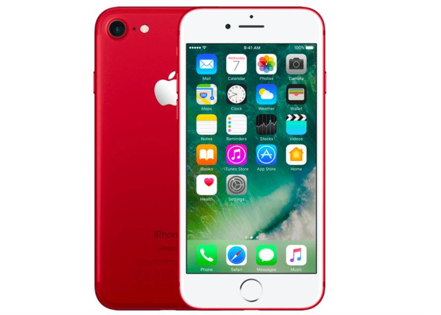 iPhone aanbieding | Apple iPhone 7 128 GB Rood | Tijdelijk voor €679,-