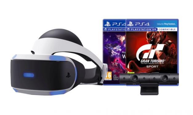 PlayStation VR Black Friday aanbieding   Pakket met GT Sport + Worlds