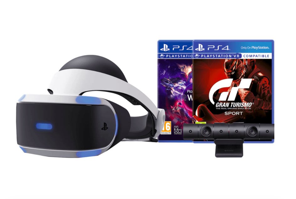 PlayStation VR Black Friday aanbieding | Pakket met GT Sport + Worlds