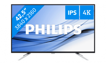 Philips Brilliance BDM4350UC | Blue Friday aanbieding | €100,- korting
