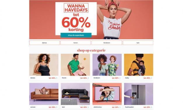 Wehkamp WannaHave Days 2018 | Bespaar tot 60%