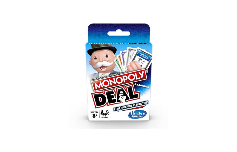 Snel en spannend: Monopoly Deal | Te koop vanaf slechts €5,99!