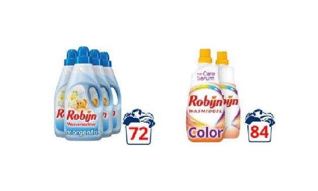 Robijn wasmiddel aanbieding | Nu tijdelijk tot 50% korting