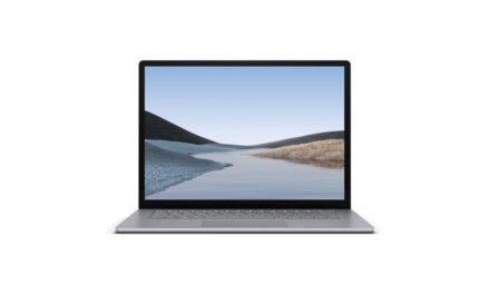 Microsoft Surface laptop 3 aanbieding | Hier met €50,- korting | Wees er snel bij!