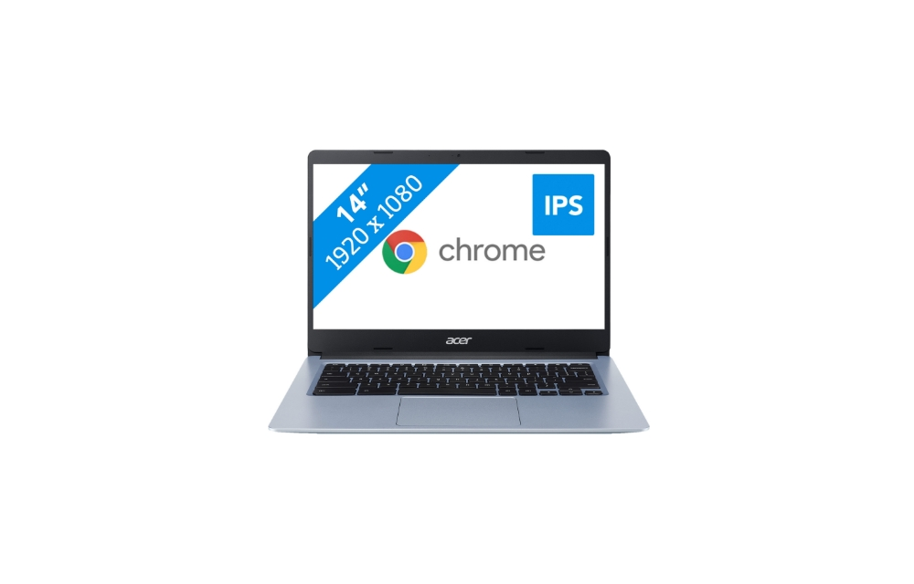 Acer Chromebook 314 CB314-1H-C11A aanbieding   Nu slechts €269,-   16% korting