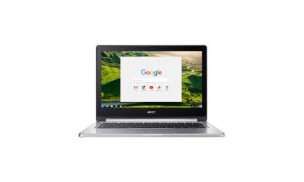 Acer Chromebook R13 CB5-312T-K5G1 aanbieding   Nu met €50,- korting