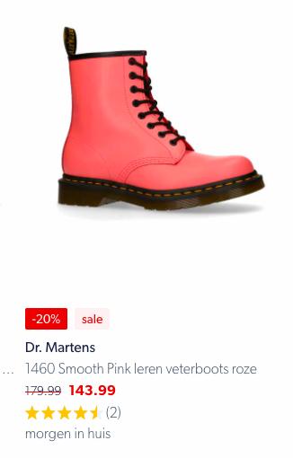 Dr Martens 1460 Smoot Pink
