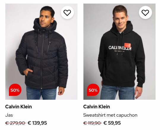 Dress For Less Calvin Klein Heren deal