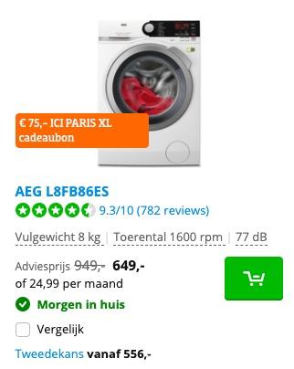 AEG L8FB86ES deal