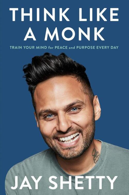 Mindfulness boek Think Like a Monk