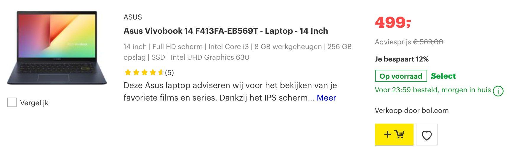 Asus Vivobook 14 F413FA-EB569T