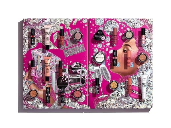 make up adventskalender nyx