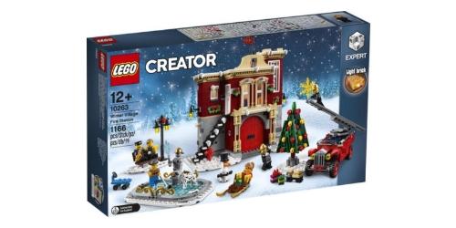 lego kerst brandweerkazerne