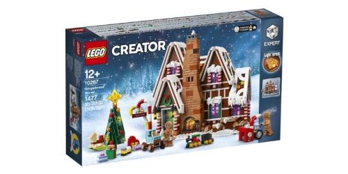 lego kerst peperkoekhuisje