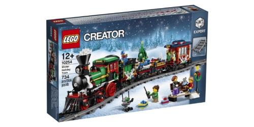 lego kerst trein