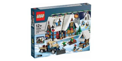 lego kerst winter cottage
