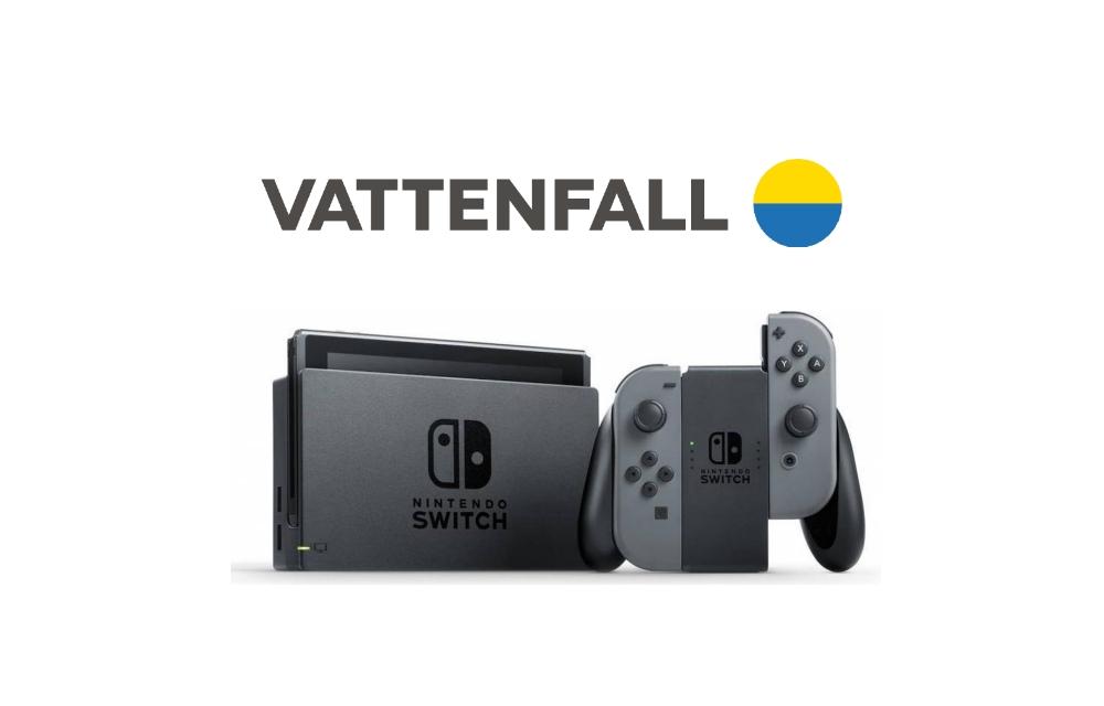 Vattenfall nieuwjaarsdeal   Krijg een Nintendo Switch (t.w.v. €339,95) cadeau!
