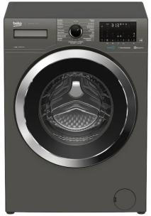 Zwarte wasmachine Beko
