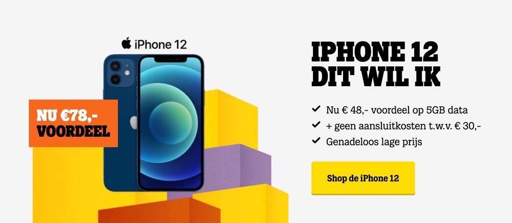 dit wil ik weken iphone 12