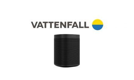 Vattenfall Sonos One weekdeal | Slimme luidspreker cadeau t.w.v. €229,-