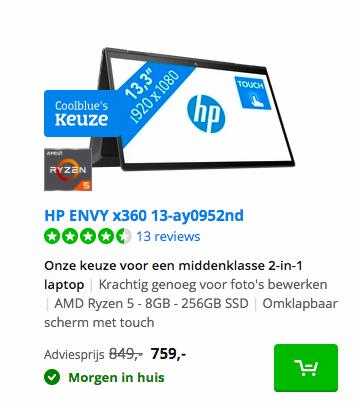 HP ENVY x360 13-ay0952nd