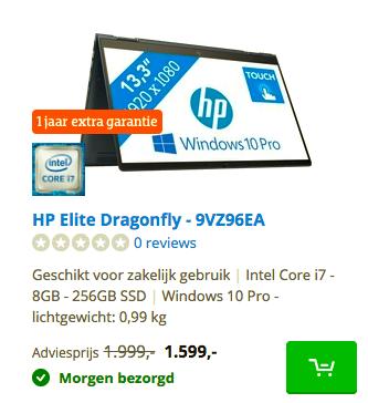 HP Elite Dragonfly - 9VZ96EA