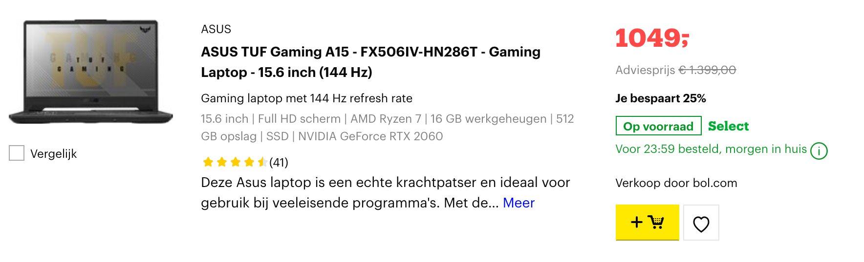 ASUS TUF Gaming A15 - FX506IV-HN286T