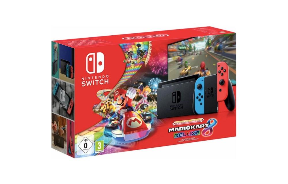 nintendo switch aanbieding met spel