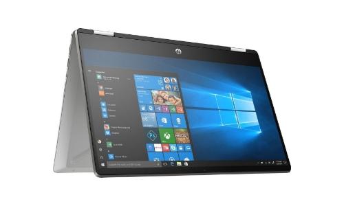 HP Pavilion x360 14-dh1740nd Razendsnelle 2-in-1 laptop voor school met touchscreen beeldscherm