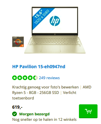 HP Pavilion 15-eh0947nd