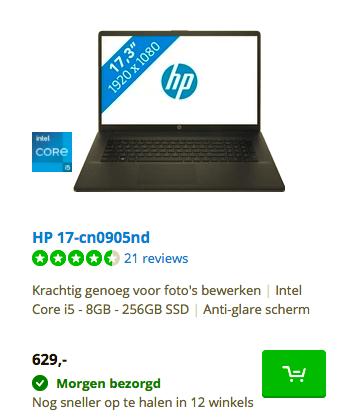 HP 17-cn0905n
