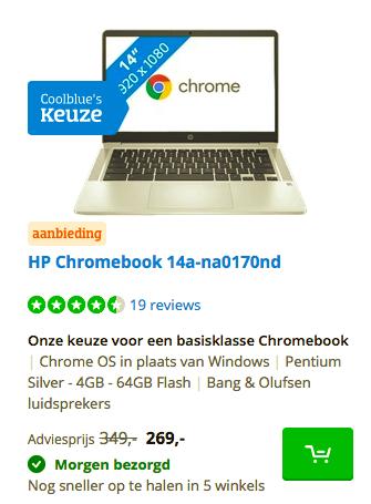 HP Chromebook 14a-na0170nd